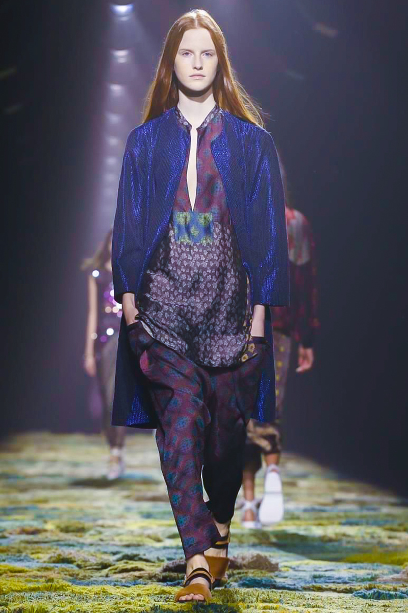 Dries Van Noten Ready to Wear Spring Summer 2015 in Milan