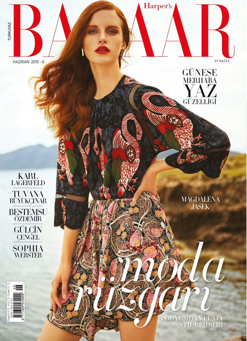 Magdalena-Jasek-Harpers-Bazaar-Turkey-June-2015-Cover-Shoot01