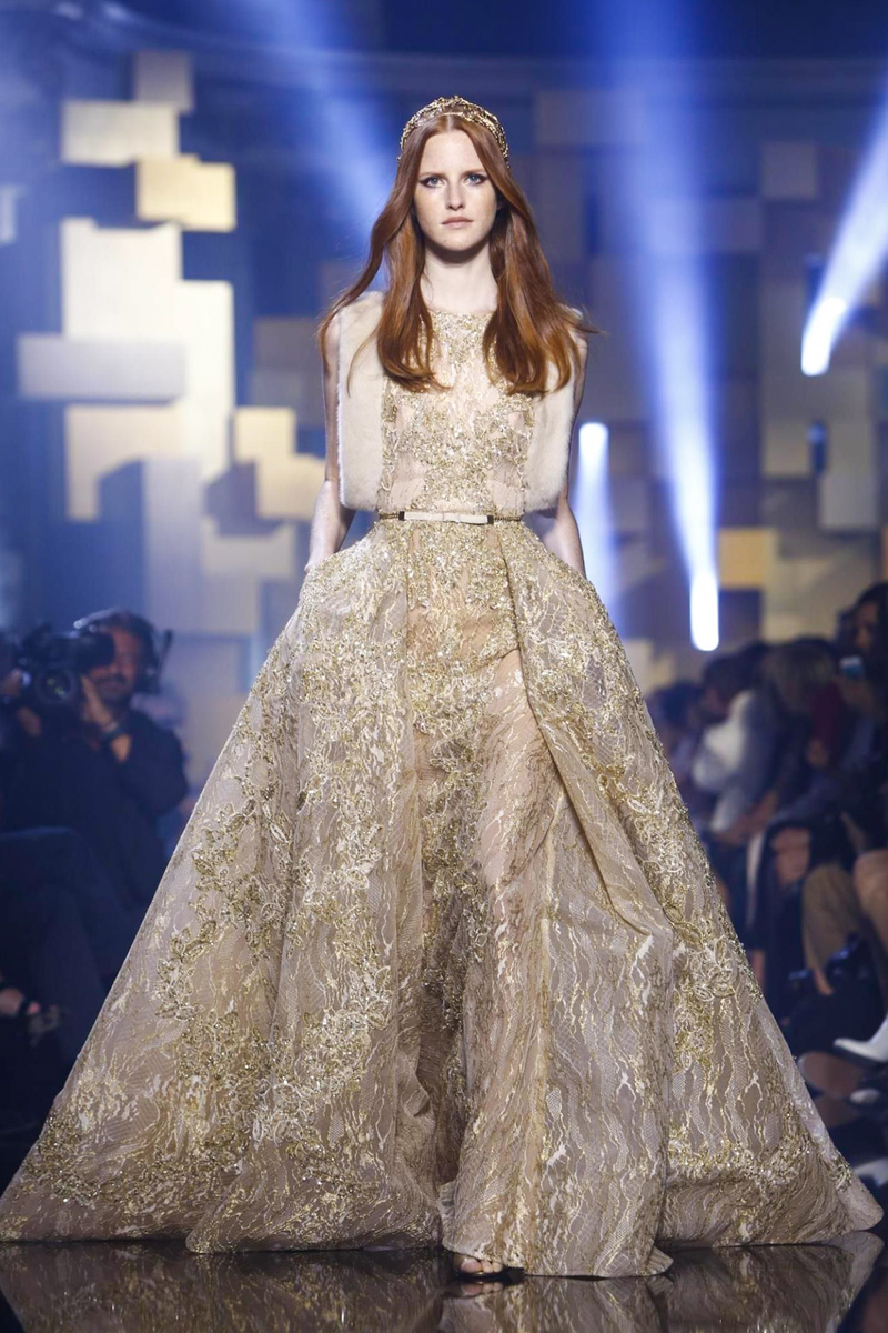Elie Saab Fall Winter 2015 Fashion Show in Paris