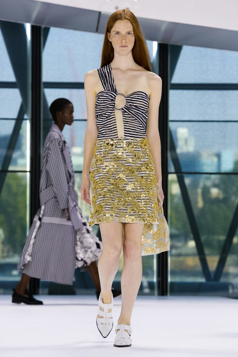 Preen by Thornton Bregazzi Fashion Show, Ready to Wear Collection Spring Summer 2016 in London