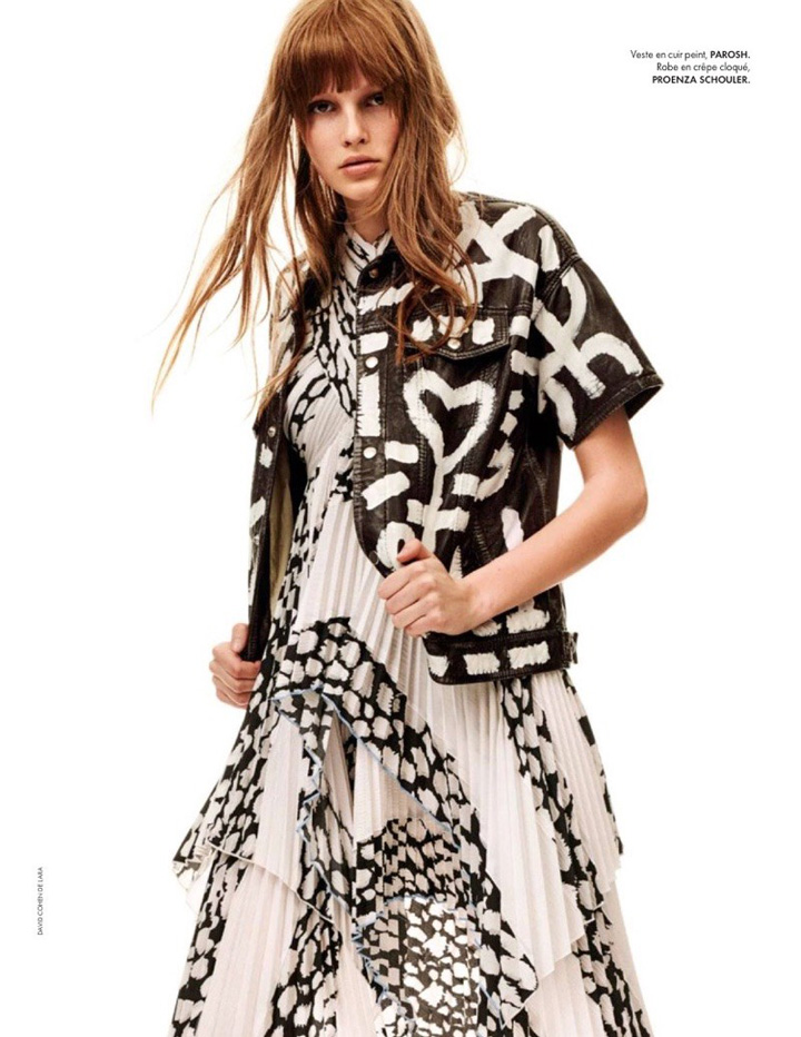 Lilly-Marie Liegau for ELLE France April 17
