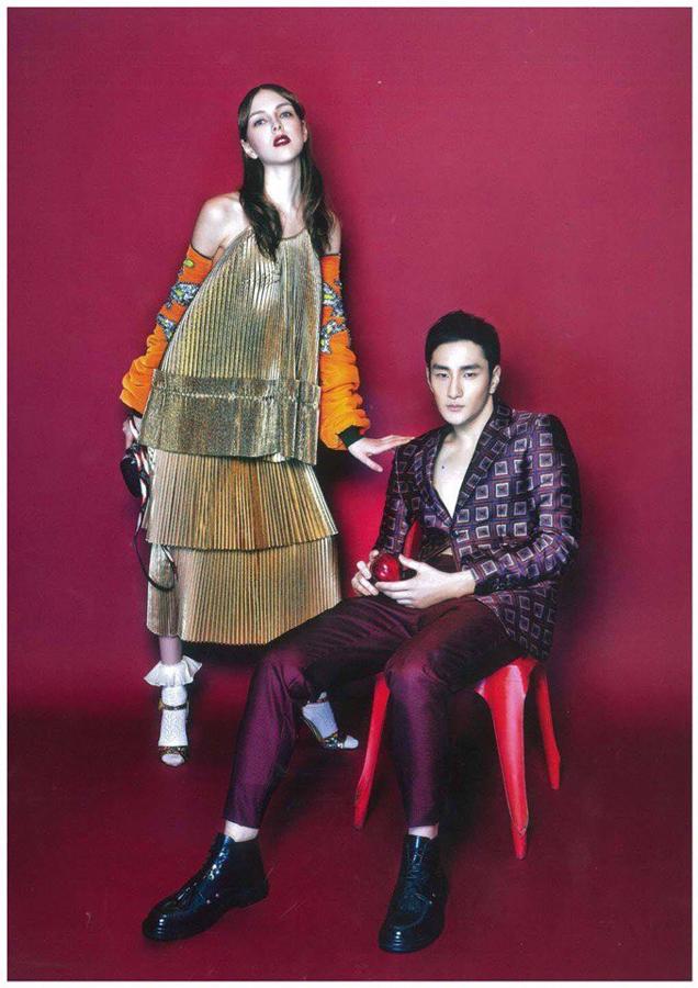 Nikita Todorova Harper's Bazaar Hong Kong 1