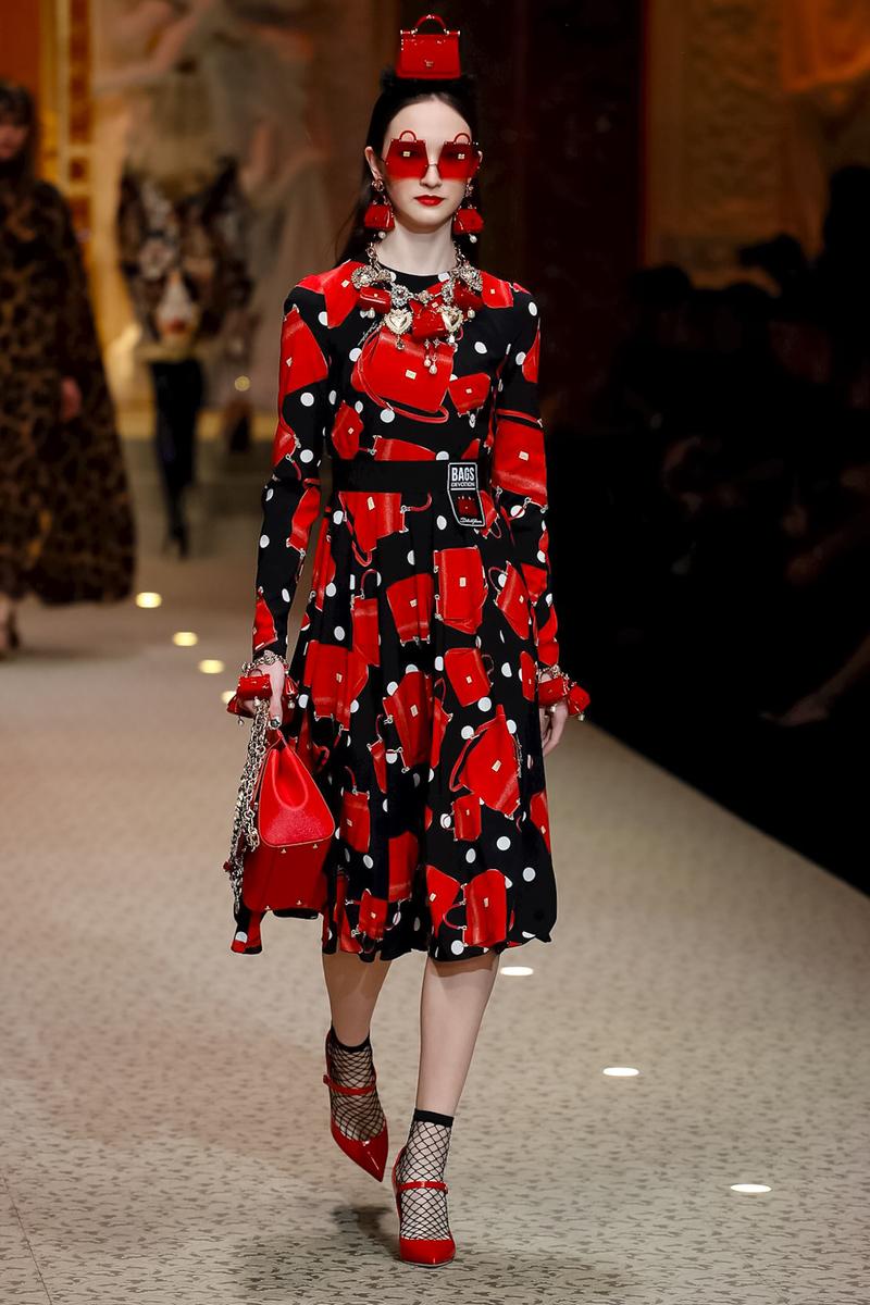 Dolce & Gabbana Fashion Show, Ready To Wear Collection Fall Winter 2018 in Milan