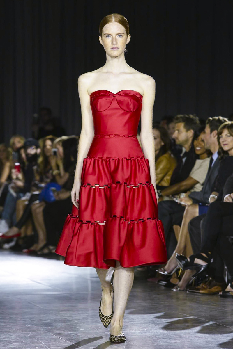 Zac Posen Fashion Show Ready to Wear Collection Spring Summer 2016 in New York