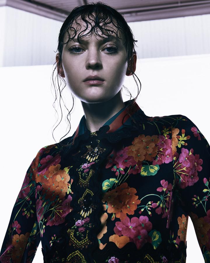 Svetlana Mukhina for W magazine (1)