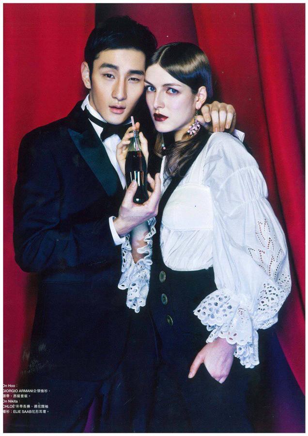 Nikita Todorova Harper's Bazaar Hong Kong 3